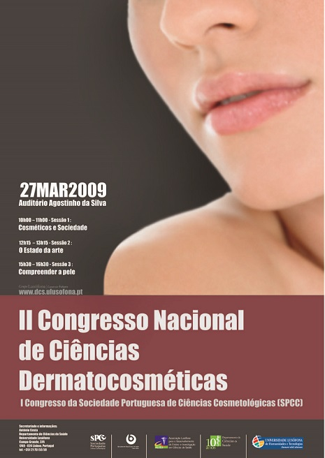 II National Congress of Dermato-Cosmetic Sciences/ I SPCC Congress